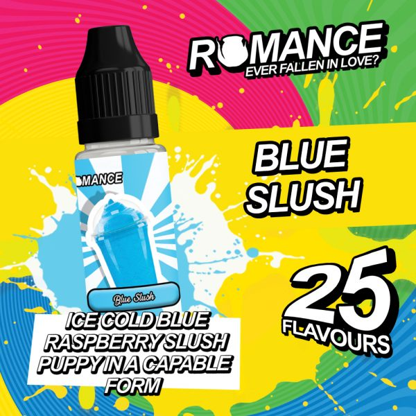 romance 10ml blue slush