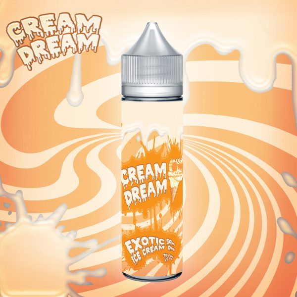 Cream Dream Exotic Ice Cream 50ml Bottle