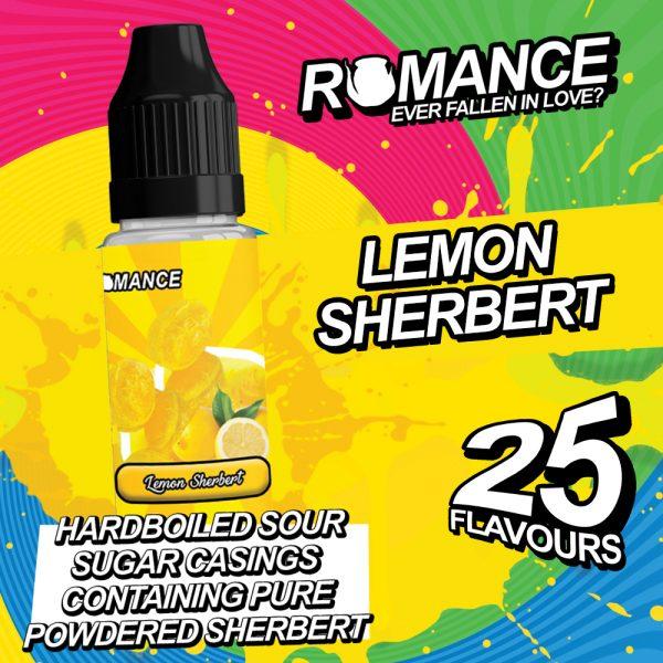 romance 10ml lemon sherbert