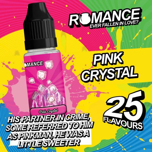 romance 10ml pink crystal