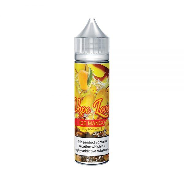 Vape Lovers Ice Mango 50ml Bottle