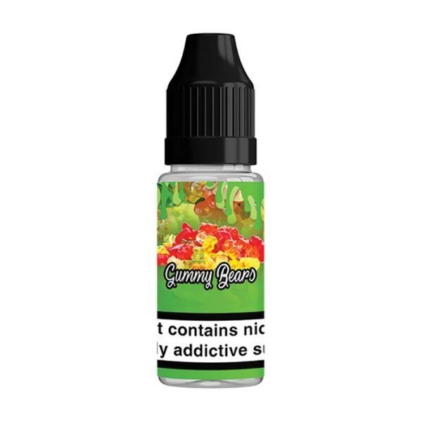 QuitterZ Gummy Bears 10ml Bottle