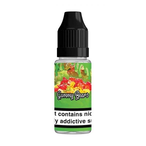 QuitterZ Gummy Bears 10ml Bottle
