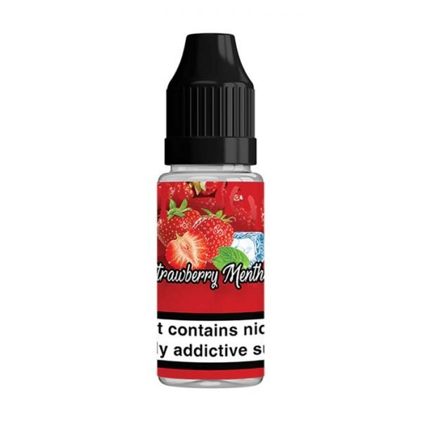 QuitterZ Strawberry Menthol 10ml Bottle