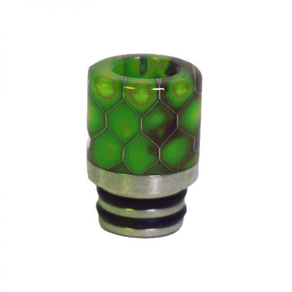 510 Snake Skin Green Drip Tip